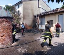 Legnaia in fiamme, cause accidentali
